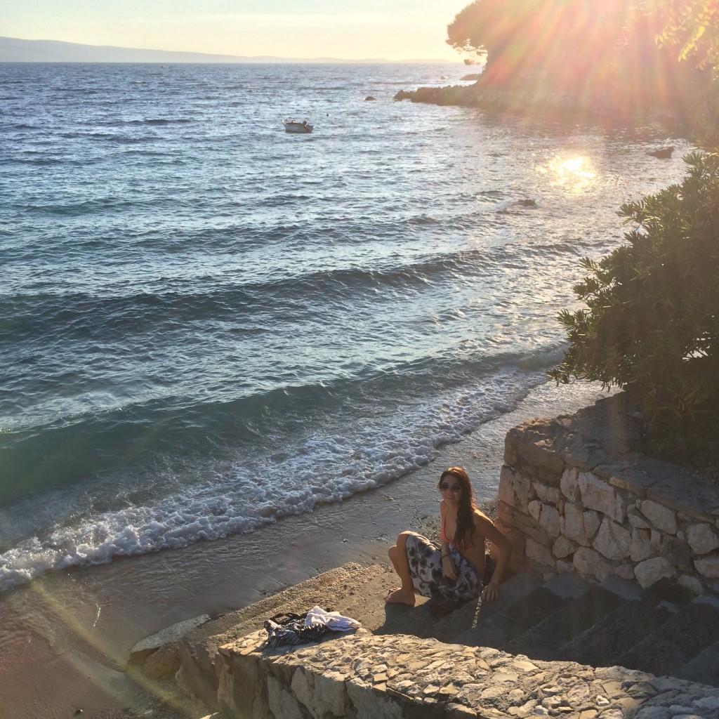Dalmatian coast beaches