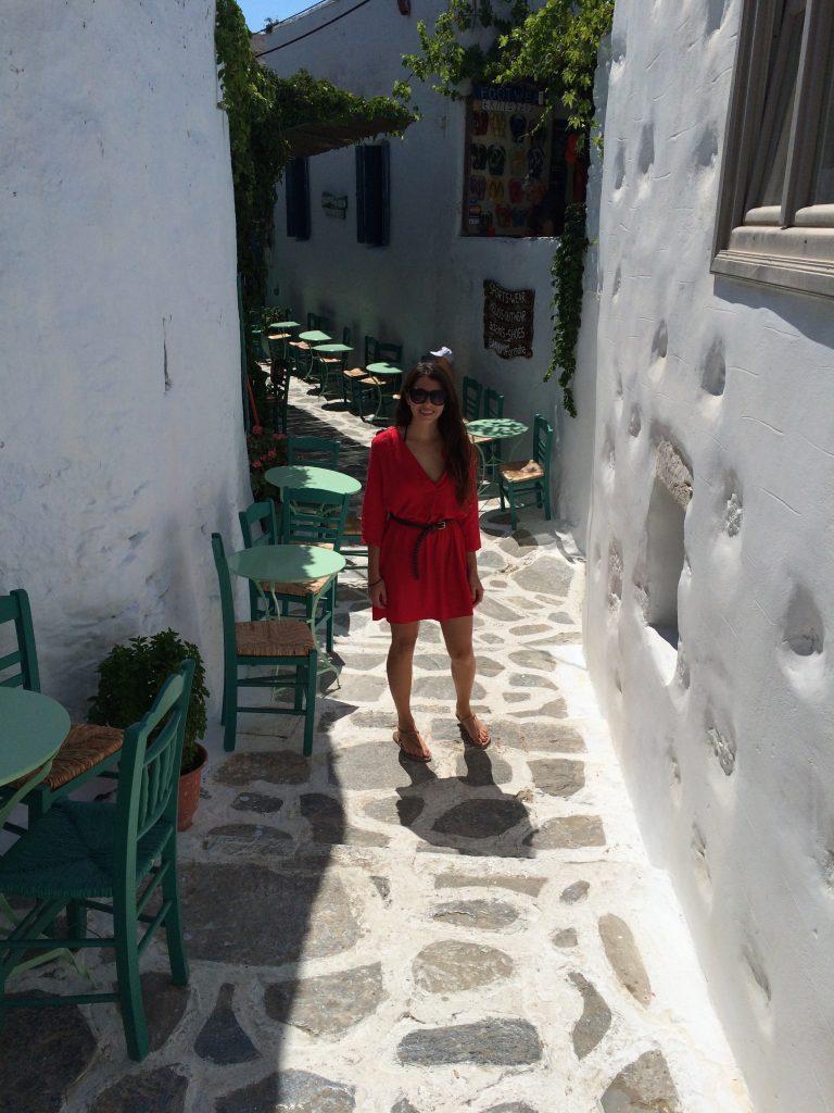 Expoloring the Chora of Amorgos