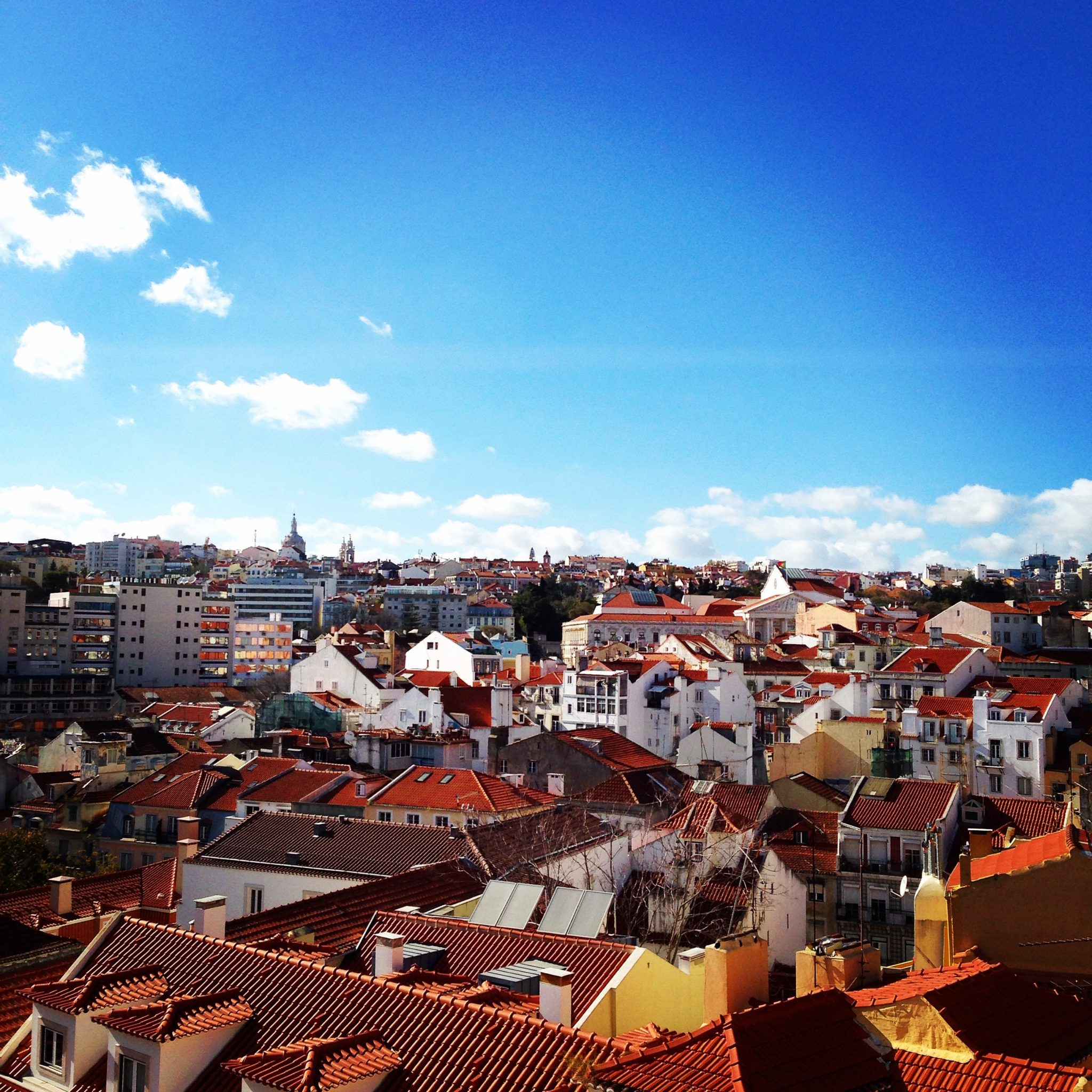The roofs of Lisbon