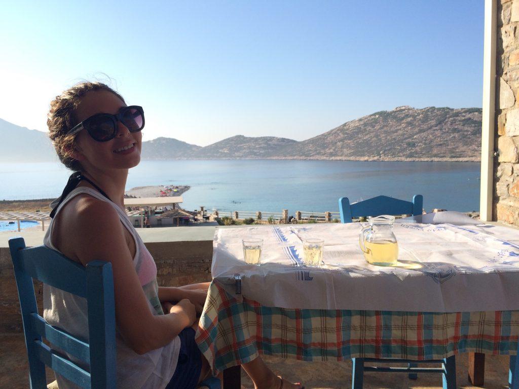 Lunch in Agios Pavlos