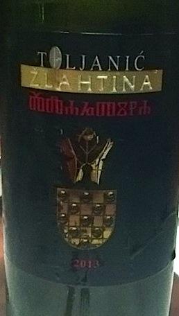 Toljanic Žlahtina 2013