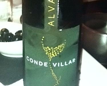 vinho verde conde villar