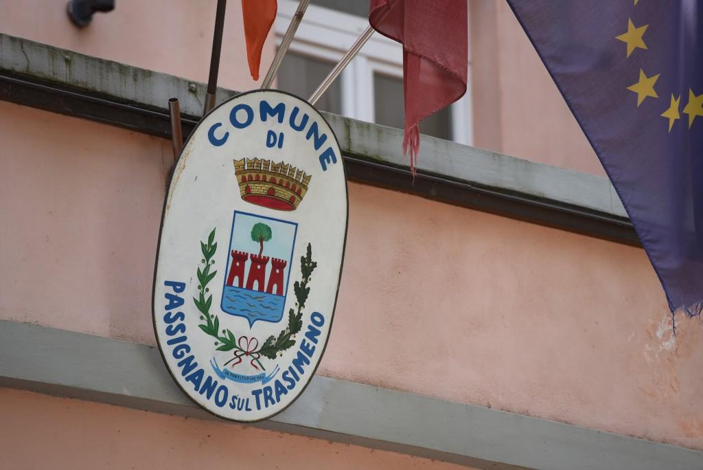 The city hall of Passignano sul Trasimeno.