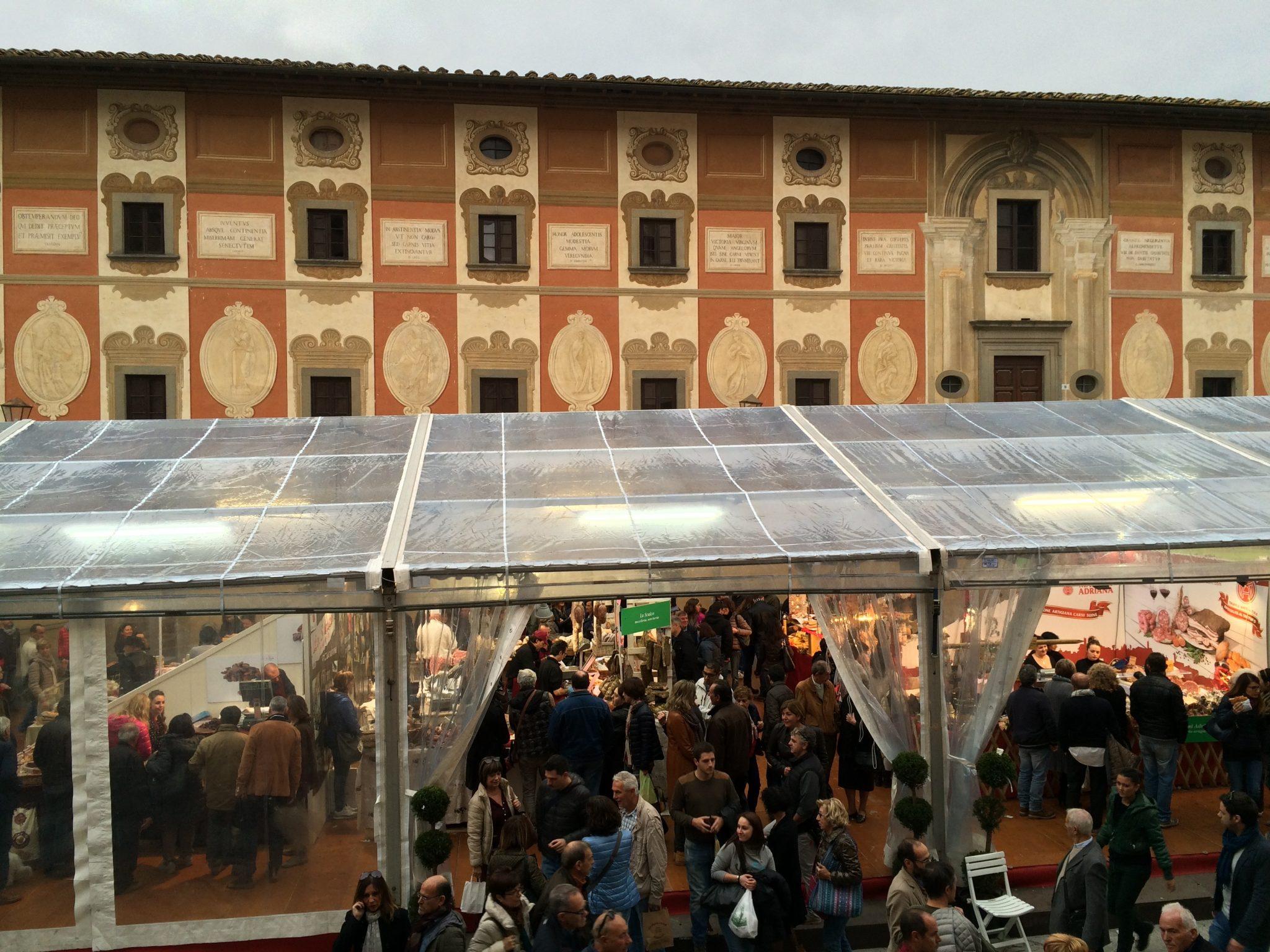 Truffle market and exhibition in San Miniato