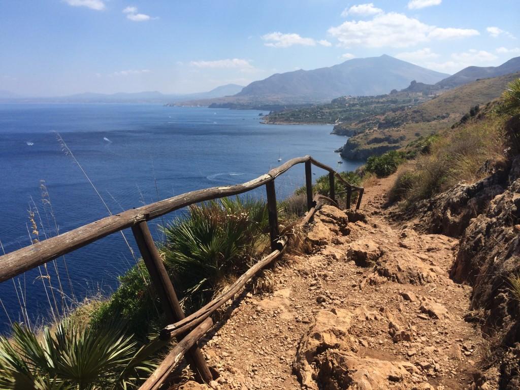 Hiking the coast of the Riserva dello Zingaro