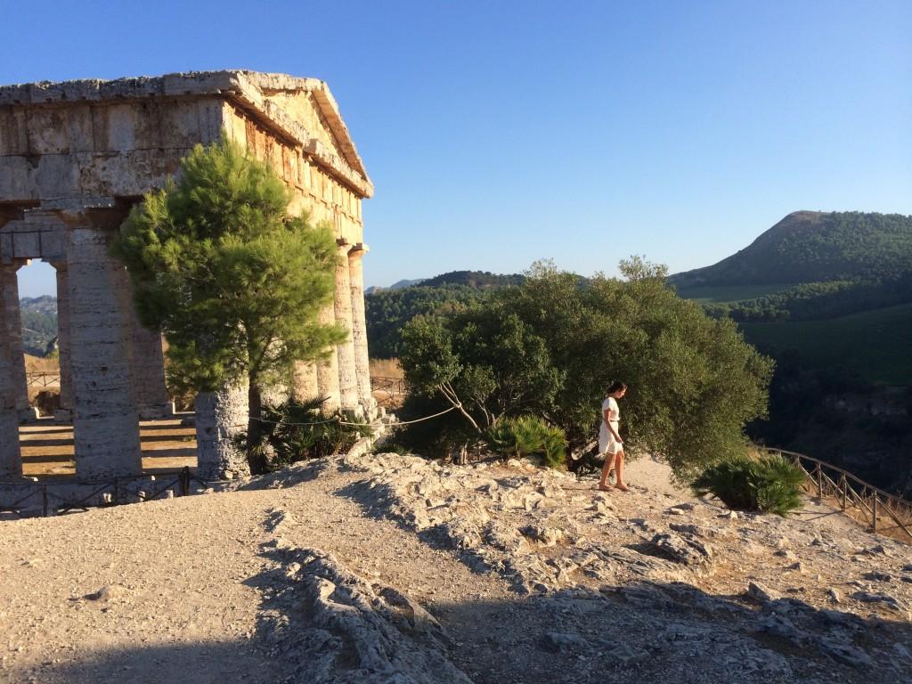 Segesta of Temple from Magna Grecia