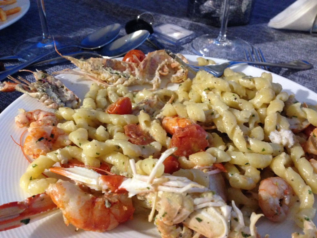 busiate seafood pasta