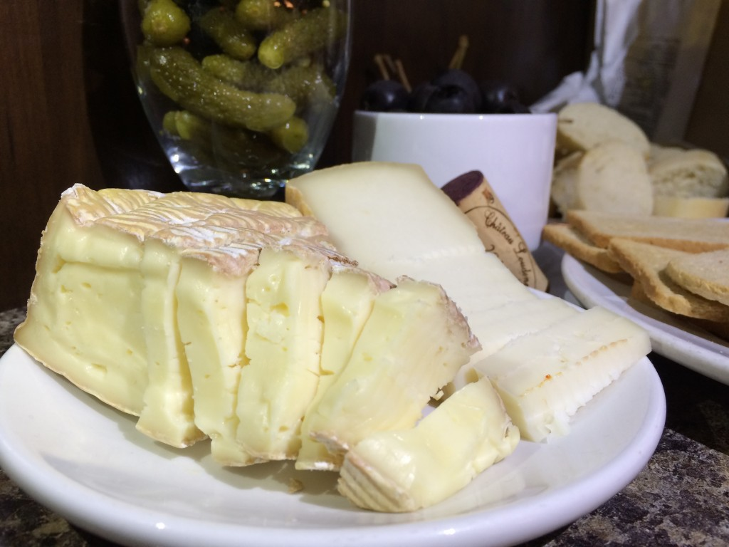 Quebec special goat cheese