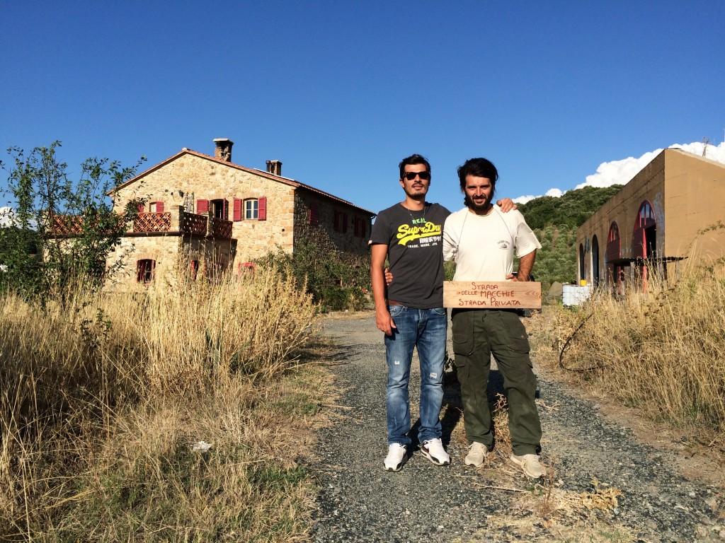 Alberto and Francesco