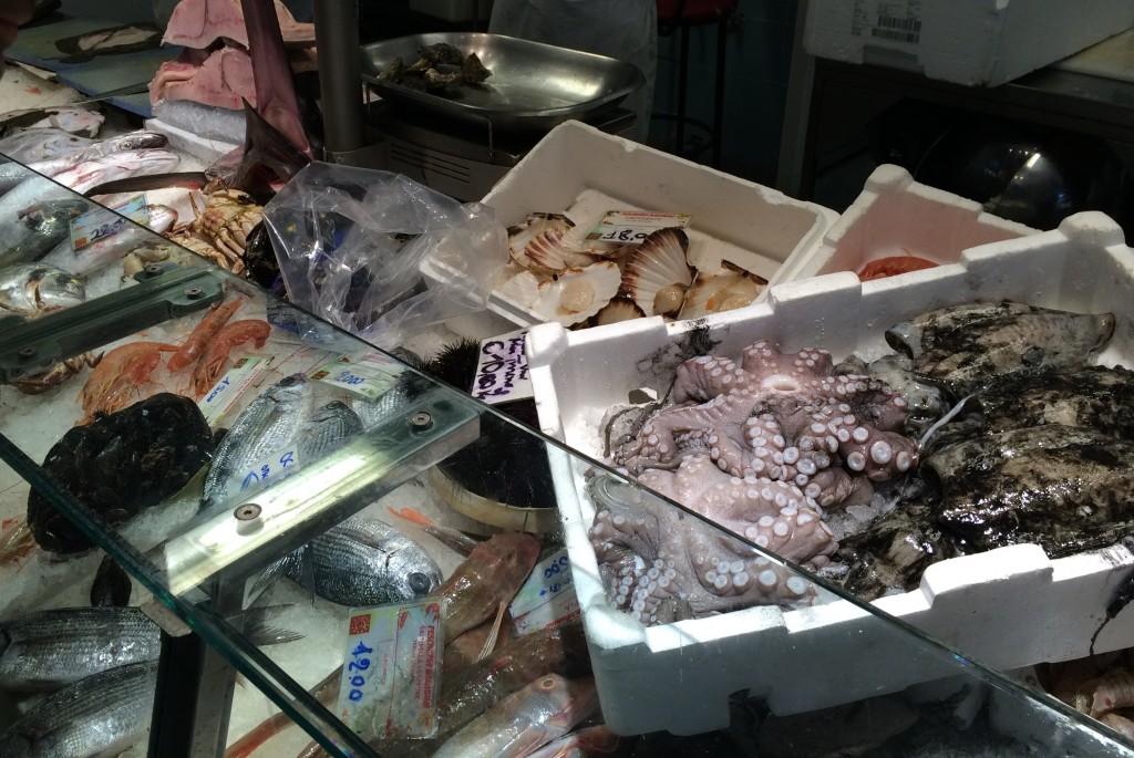 Alessandro fish shop San Lorenzo Market