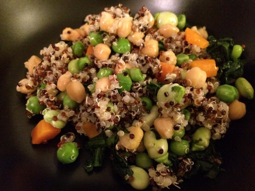 Quinoa salad organic bio