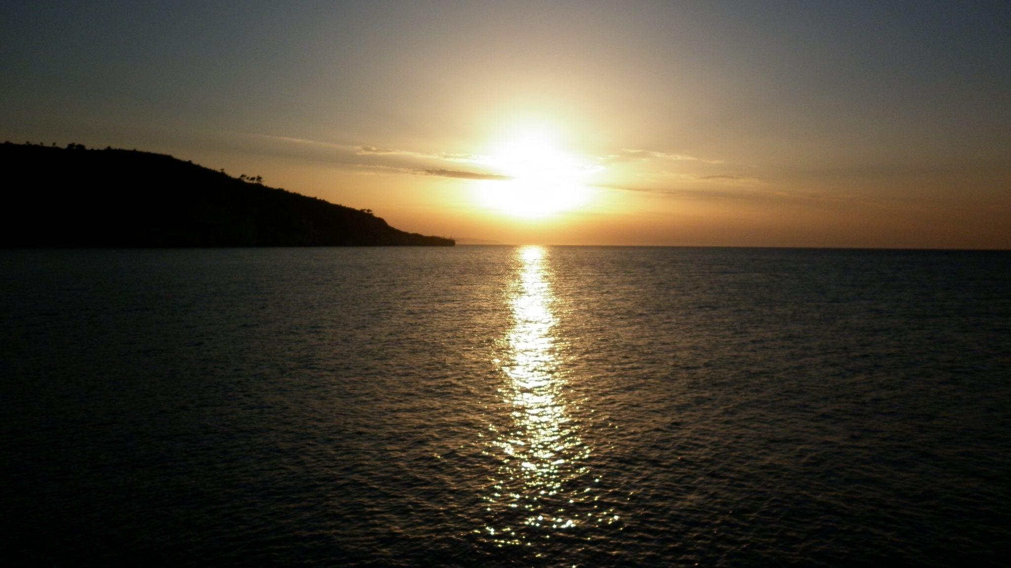 Sunset in Gargano Puglia