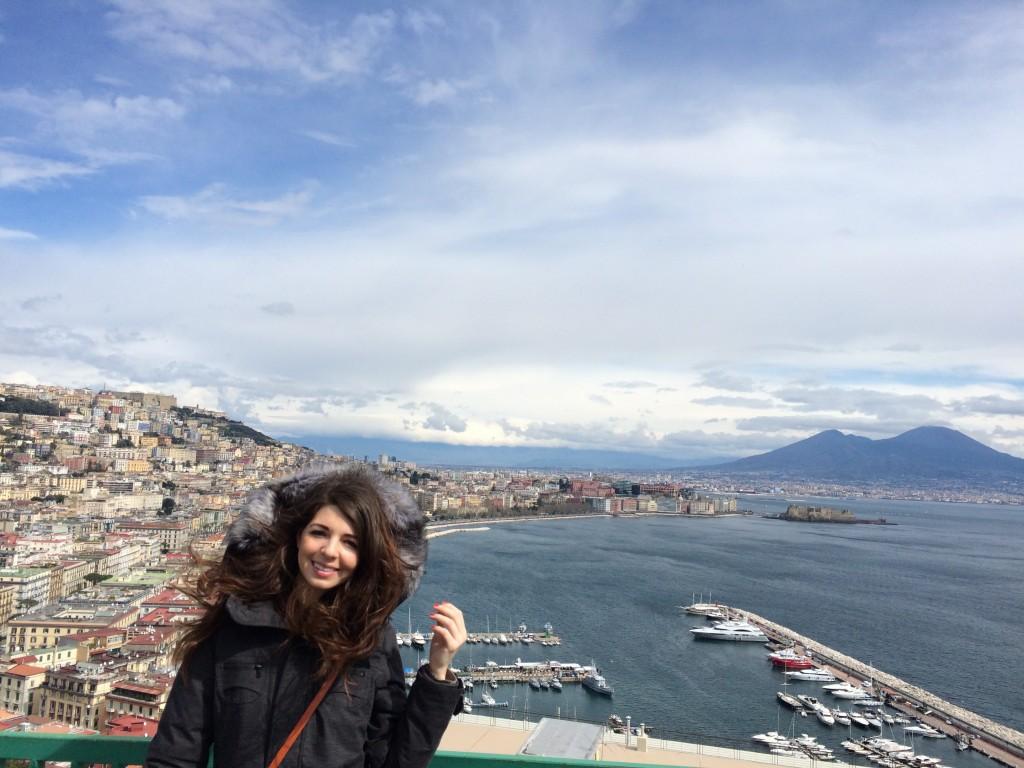 Christina view of Napoli