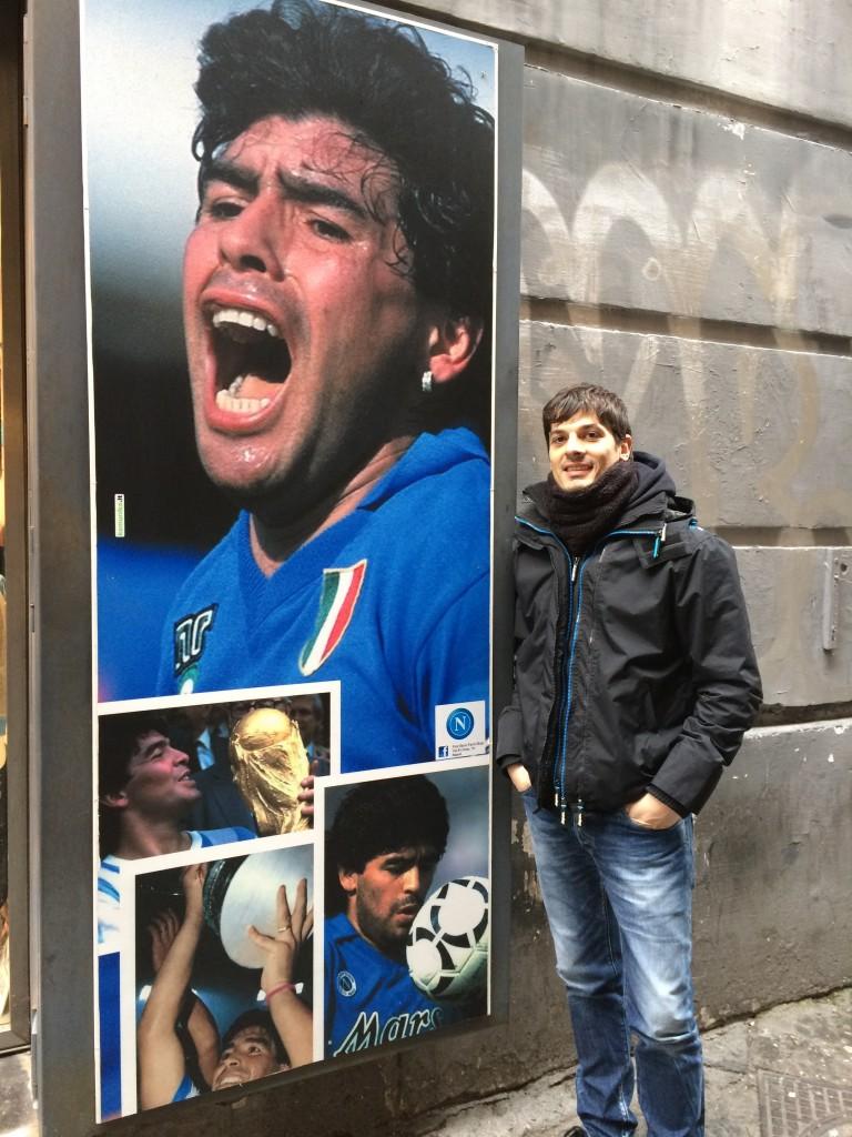 Napoli Maradona and Francesco