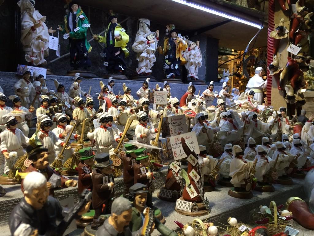 Napoli San Gregorio Armeno shops