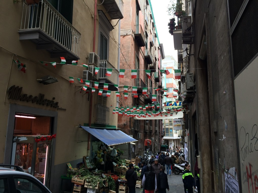 Napoli Spanish quartieri spagnoli markets