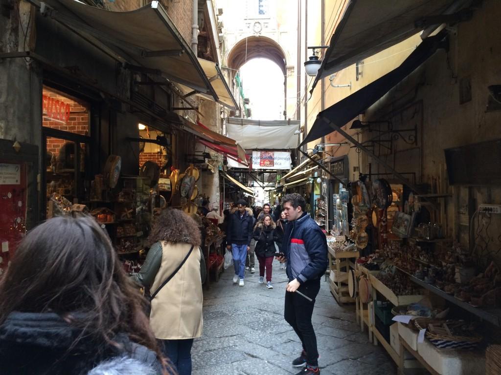 San Gregorio Armeno Presepe shops
