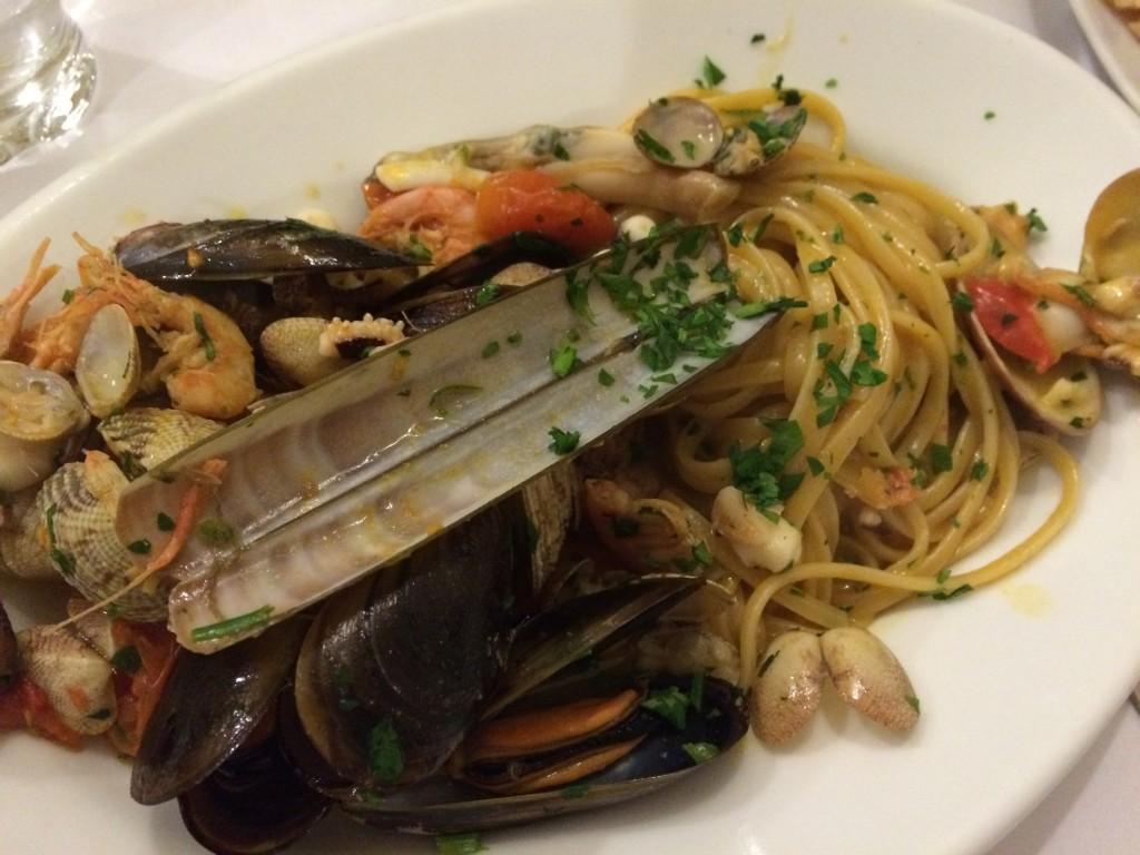 Spaghetti mare Napoli