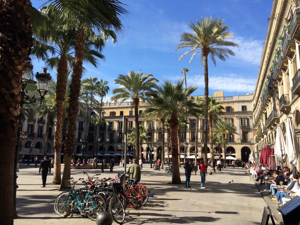 Barcelona Placa Reyal