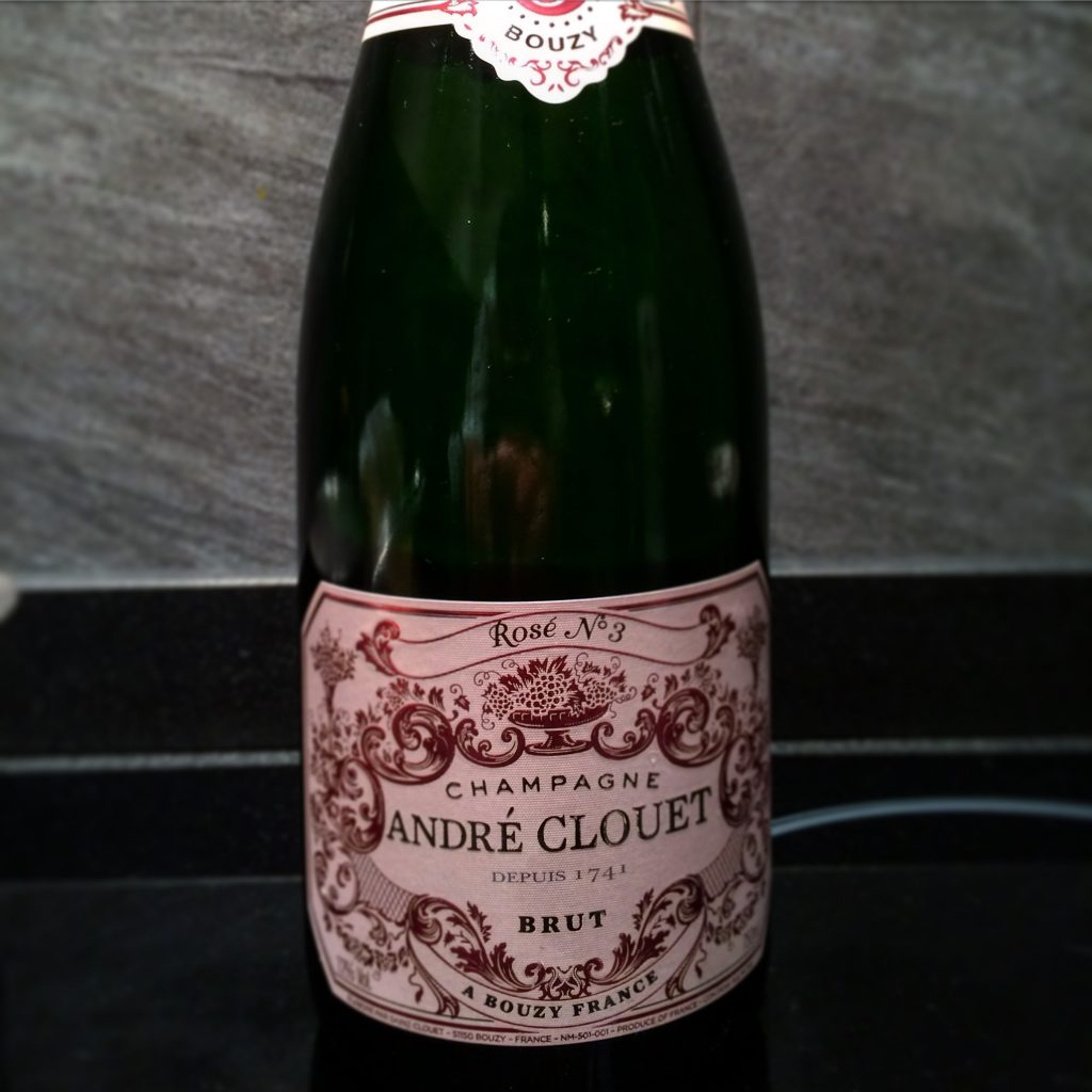 Champagne Andre Clouee Rose No 3