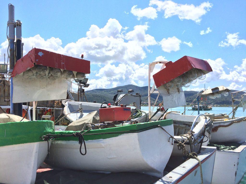 Italian Lapara boat