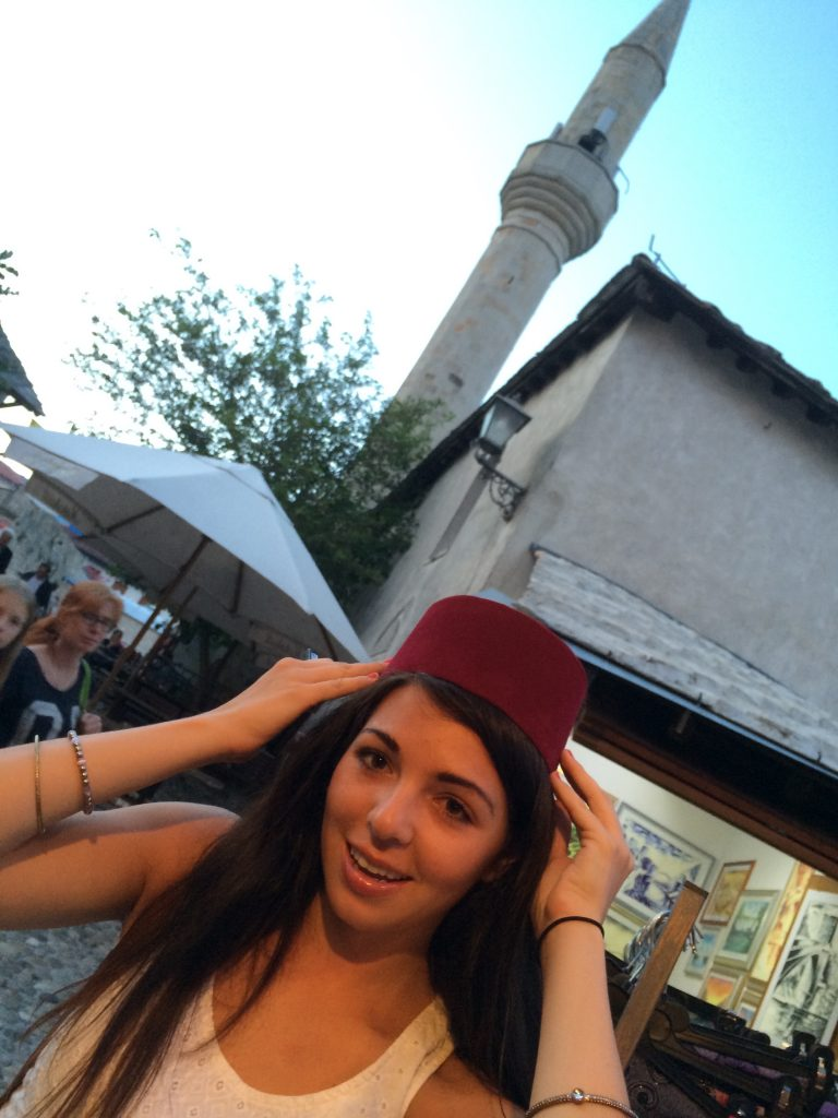 Sunset sounds in Mostar