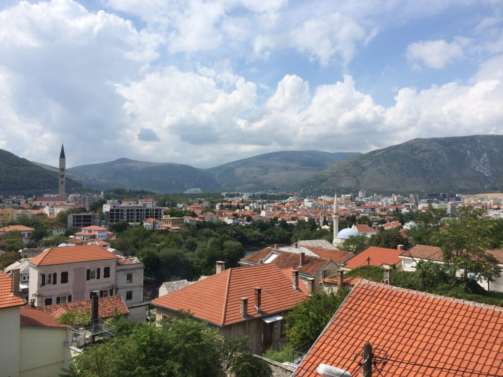 View of Mostar from Shangri la