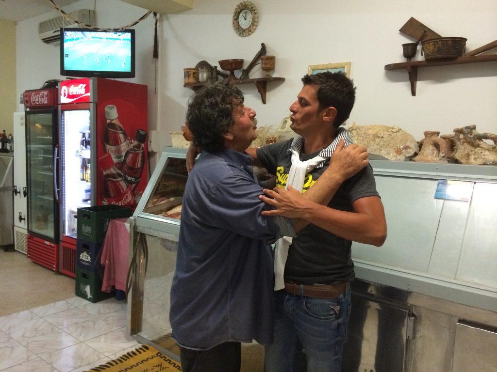 Francesco and Capetan Nicolas