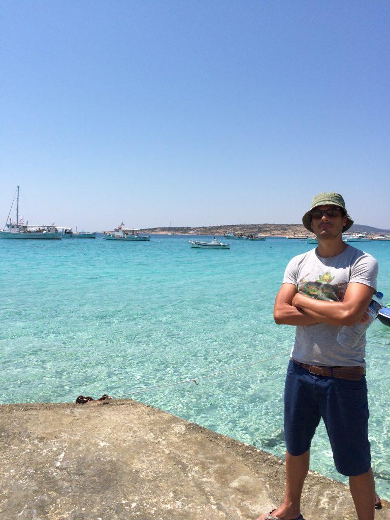 Francesco at Finikas beach Koufonisia