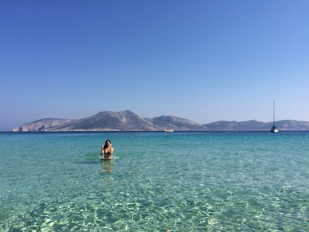 Swimming at Italida