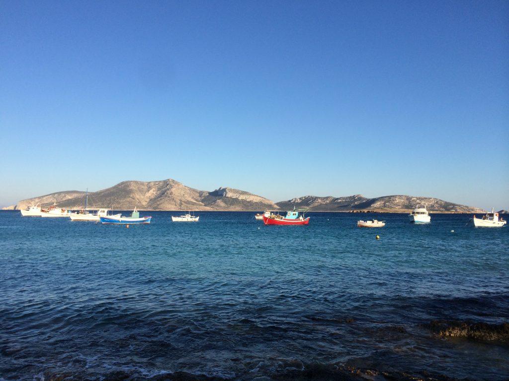fishing boats Koufonisia