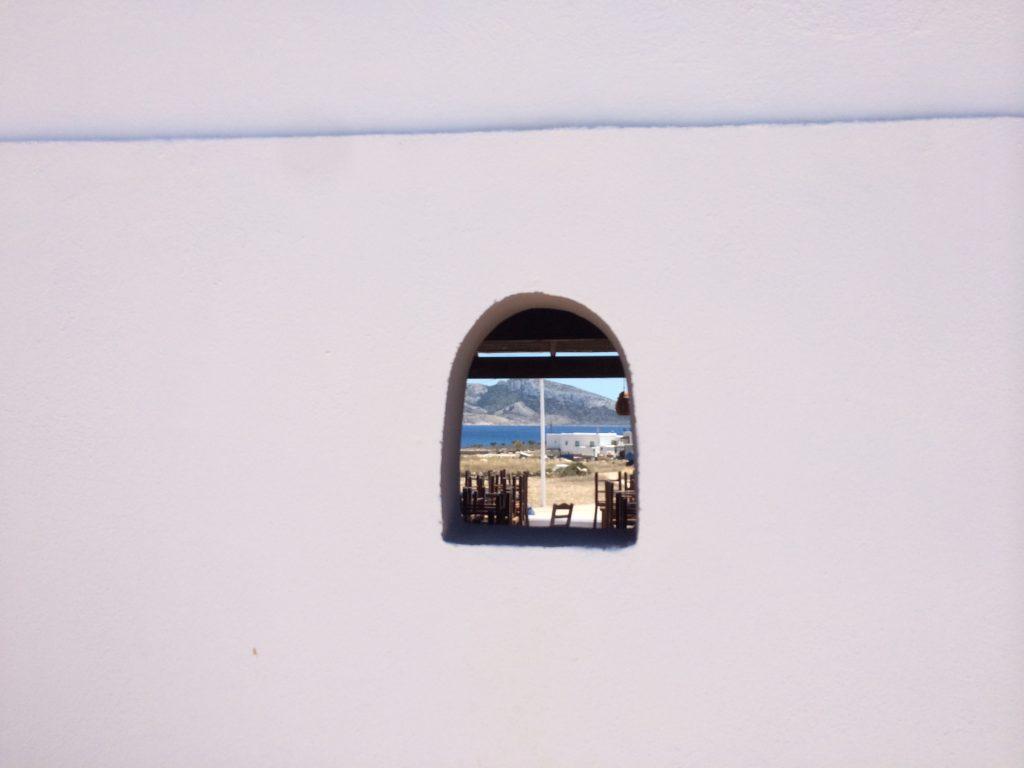 window in greek house Koufonisia