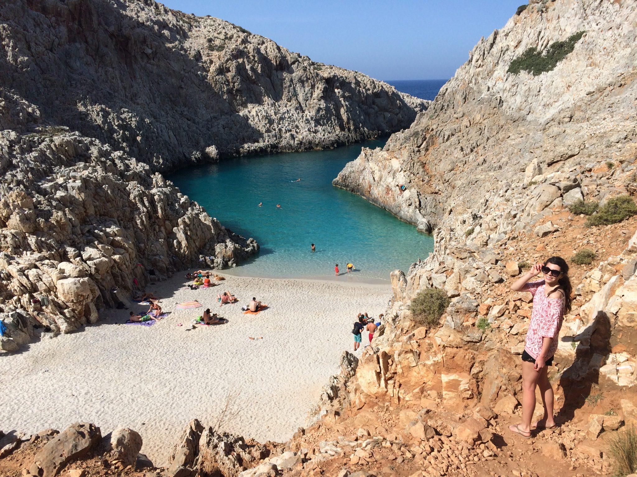 stefanou beach crete
