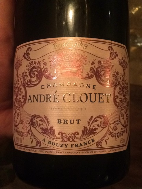 andre clouet champagne rose