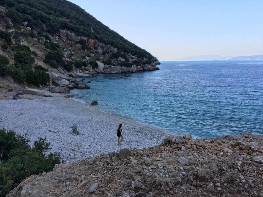 Vouti beach in kefalonia