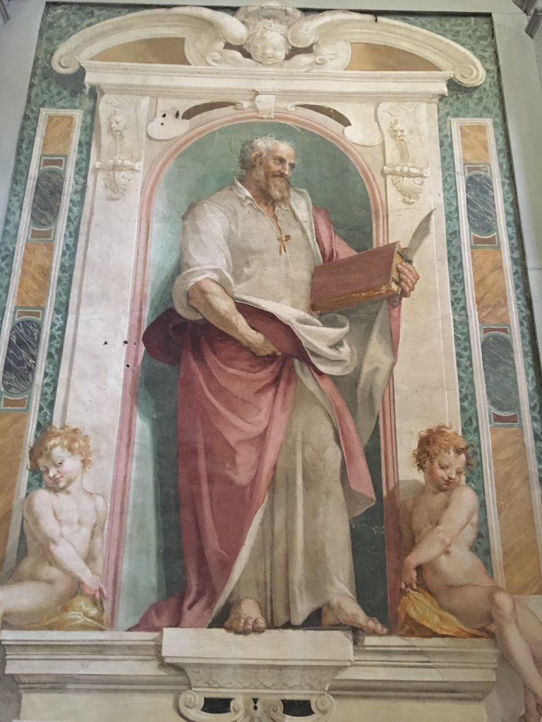 Beato Bernardo Tolomei of Simone Pignoni