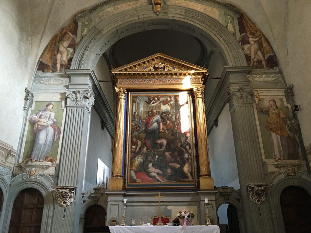 Cristo e la Emorroissa of Poppi aka Francesco Morandini