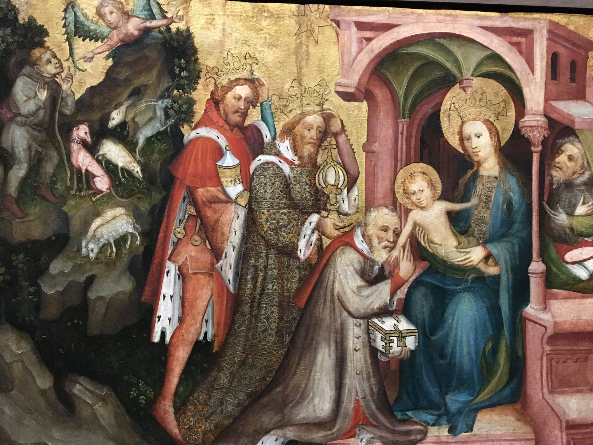 Mittelrheinischer Meister the adoration of Magi 1523