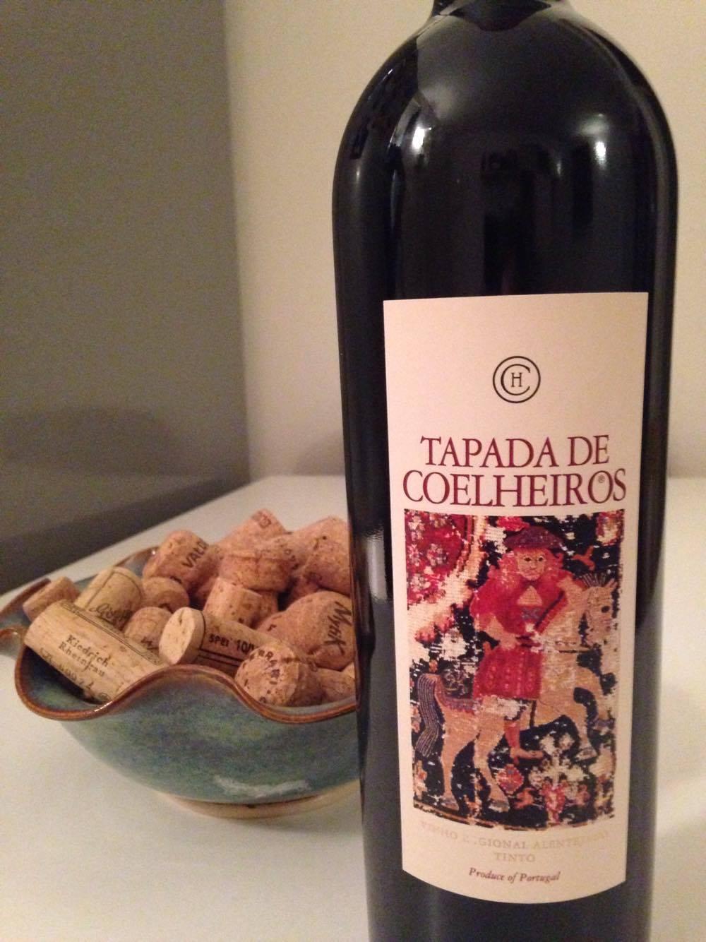 Tapada de Coelheiros Alentejano wine from Portugal