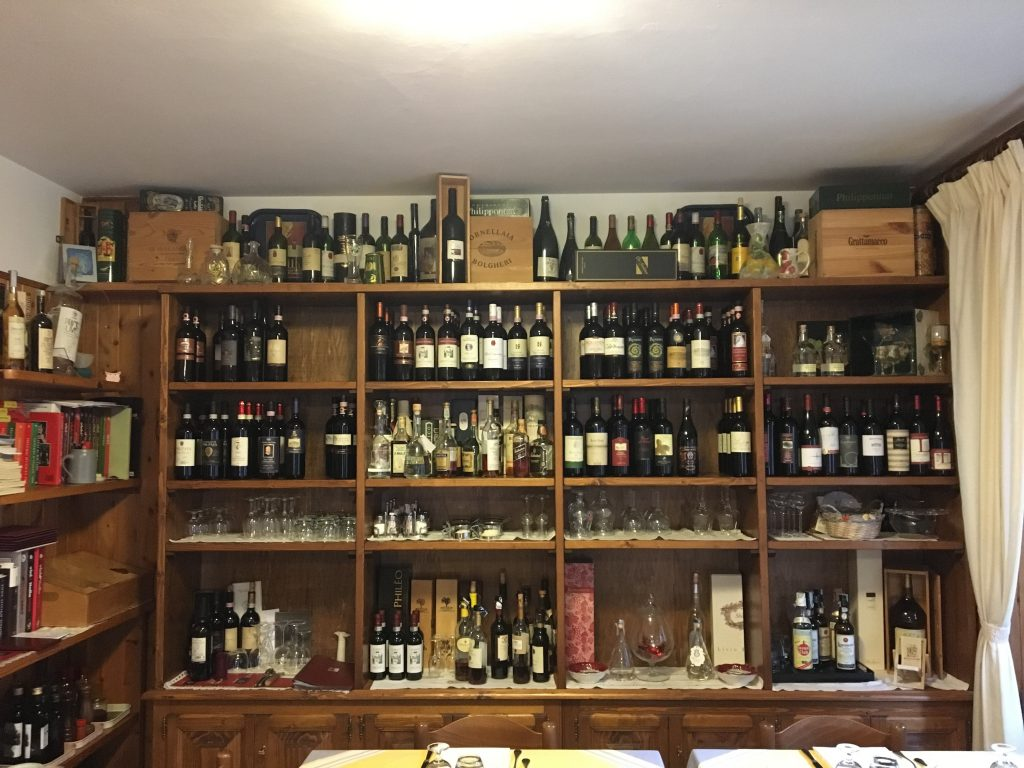 WIne collection of ristorante da silvio la storia a tavola