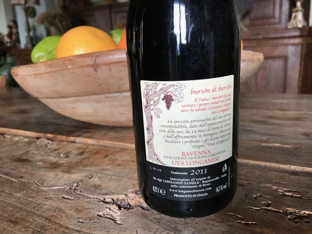 Burson longanesi daniele etichetta label